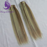 Silky Straight Piano Color Human Virgin To hate Weft (HW60)