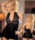 Сексуальный шнур g Babydoll Sleepwear платья шнурка повелительниц женщин женское бельё плюс размер