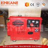 молчком электрический тепловозный генератор 5kw с двигателем 10HP