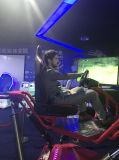 Coche de competición de las pantallas del simulador 3 con más de 100 diversas pistas que compiten con