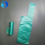 HDPEの緑のプラスチックロールの星によって密封されるごみ袋