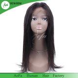 Perruque 100% brésilienne de lacet de cheveux humains de Vierge non transformée d'usine