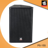 15 Zoll - hohe Leistung NeoSubwoofer PS-15s