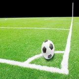 grama artificial da forma da cruz da altura de 50mm para o campo de futebol