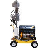 Kleiner Typ Dieselgenerator-Towable Beleuchtung-Aufsatz mit Halogenid des Metall4x400w