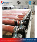Southtechのきっかり従来の物理的な強くされたガラス生産ライン(ページ)