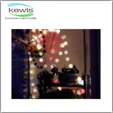 Coloreado alrededor de luz de la Navidad de 20LED 4.5V LED