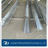 Выкованная стальная плита 1.2379 с филированной поверхностью