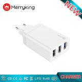 Chargeurs USB 4 ports de nouvelle conception de l'approbation de la FCC RoHS Ce EMC Adaptive pour téléphone mobile