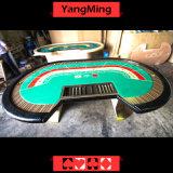 Tableau de jeu d'or de casino de couleur de tisonnier de Tableau de mise à niveau faite sur commande de luxe d'usine avec le joueur 8 de 2.8 mètres (YM-BA09)