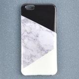 Kreative geometrische Farben, die Marmortelefon-Kasten für iPhone 7/6s/6 abgleichen
