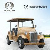 Автомобиля сбор винограда топлива батареи 6 Seater вагонетка гольфа тележки электрического классицистическая