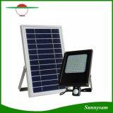 15W는 램프 120 LED 운동 측정기 정원 옥외 태양 강화한 플러드 빛을 방수 처리한다