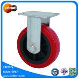 Echador de la rueda de la PU 150m m del rodamiento de rodillos para el carro de la media