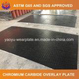 Plaque de recouvrement de carbure de chrome pour le bâti de camion