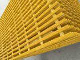 Cerca de las rejas FRP de FRP Pultruded, carril de la fibra de vidrio