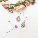 Cadeau de décoration Fashion Earring Bijoux en argent Ensemble en acier inoxydable