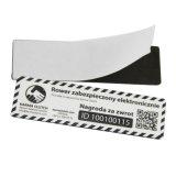 Etiqueta autoadhesiva impermeable imprimible del Anti-Metal NFC RFID de la etiqueta 13.56MHz