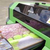 PVC ID 카드 디지털 UV 평상형 트레일러 인쇄 기계 여권 사진 인쇄 기계