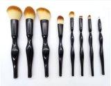[8بكس] سوداء جميل وسط خطّ بنية فرشاة مجموعة