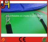 水ゲームのための6mの直径の膨脹可能な水跳躍のトランポリン
