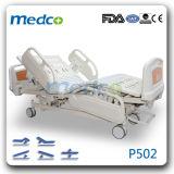 Cinq fonctions médicale Hôpital de soins intensifs électrique lit patient