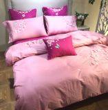 Matéria têxtil luxuosa rústica da HOME do algodão para o país