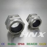 Hnx Latón IP68 Prensaestopas metálicos de acero inoxidable TNP3/8