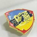 Distintivo di protezione militare del metallo privato del metallo per il cappello