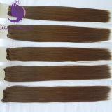 Tessuto serico dei capelli di Remy del Virgin dell'essere umano di buona qualità diritto 100%