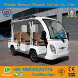 Ponto baixo aberto da cor branca dos assentos do tipo 8 de Zhongyi - velocidade fora do carro elétrico da canela da estrada com certificado do Ce