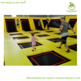 Grosser Site-Bereichs-freier springender Arena kundenspezifischer Trampoline-Park für Verkauf