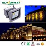 luz de inundación al aire libre de 10W AC85-265V LED (YYST-TGDJC1-10W)