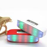 Altoparlante portatile del USB dell'indicatore luminoso variopinto esterno di stereotipia LED con l'altoparlante radiofonico di FM Bluetooth