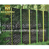 Écrans décoratifs de jardin de coupure de laser en métal de qualité pour le modèle