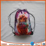 Sac à dos en nylon de promotion salle de gym coulisse un sac de shopping