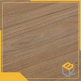 Grain du bois de teck décoratif papier imprégné de mélamine pour les placages, cuisine, l'étage, porte et des meubles d'fabricant chinois