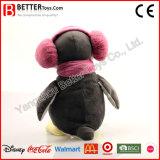Pingüino suave modificado para requisitos particulares del animal relleno del juguete de la felpa