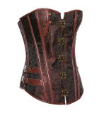 Women Gothic Slimming Waist Belt Corset Lace UP Body Shaper
