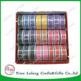 Qualitäts-zweiseitiges Satin-Polyester-Großhandelsfarbband