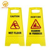 Haltbares nasses Fußboden-Vorsicht-Plastikzeichen