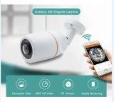 Для использования вне помещений 360 градусов камера панорамного Vr HD 960p Wireless WiFi IP-Cam Фишай 1,44 мм Wi-Fi камер видеонаблюдения CCTV Cam