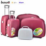 Bubuleアフリカの装飾的なボックスDl507によってセットされる普及した5部分の安い荷物のスーツケースの一定の荷物およびトラック