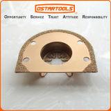 lâmina rápida de oscilação da ferramenta da remoção do Grout do ajuste do carboneto de 70mm (2-3/4 '')