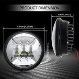 Indicatore luminoso di nebbia impermeabile approvato della jeep LED del PUNTINO 4.5inch 30W