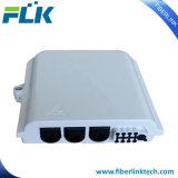 FTTHの壁の台紙のための屋内8つのポートのファイバーの配電箱
