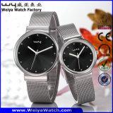 La mode occasionnelle classique de quartz d'ODM d'usine accouple les montres-bracelet (Wy-057GE)
