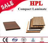 Laminado compacto HPL hojas de la Junta de HPL