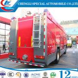 L'eau de Sinotruk 6X4 et camion de pompiers de mousse