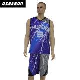 La Cina progetta l'uniforme per il cliente di pallacanestro di pallacanestro della Jersey degli uomini sublimati di usura